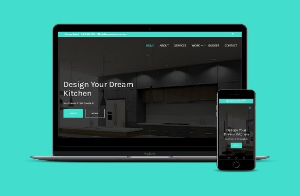Gauteng Kitchens Website After